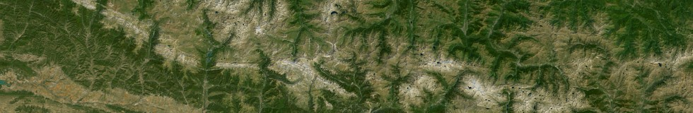 pixel statistics based on Landsat - Pyrenees