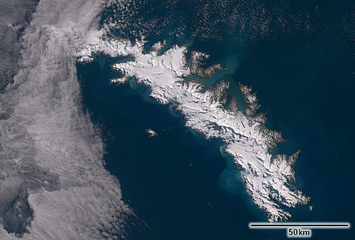 South Georgia in early October 2021